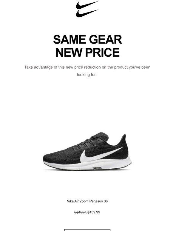Price Drop: Nike Air Zoom Pegasus 36