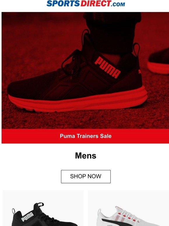 puma mens trainers sports direct