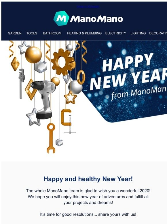 Manomano Email Newsletters Shop Sales Discounts And Coupon Codes Page 4