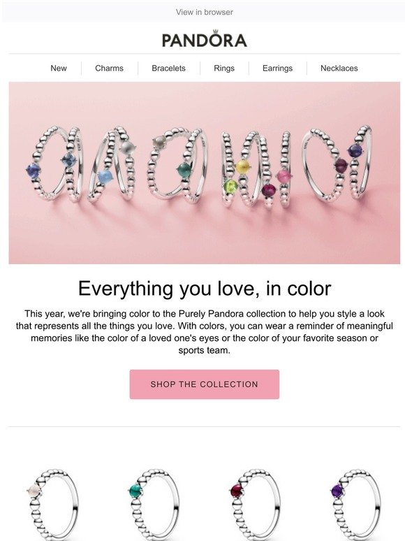 Pandora Find Your Match With The All New My True Colors