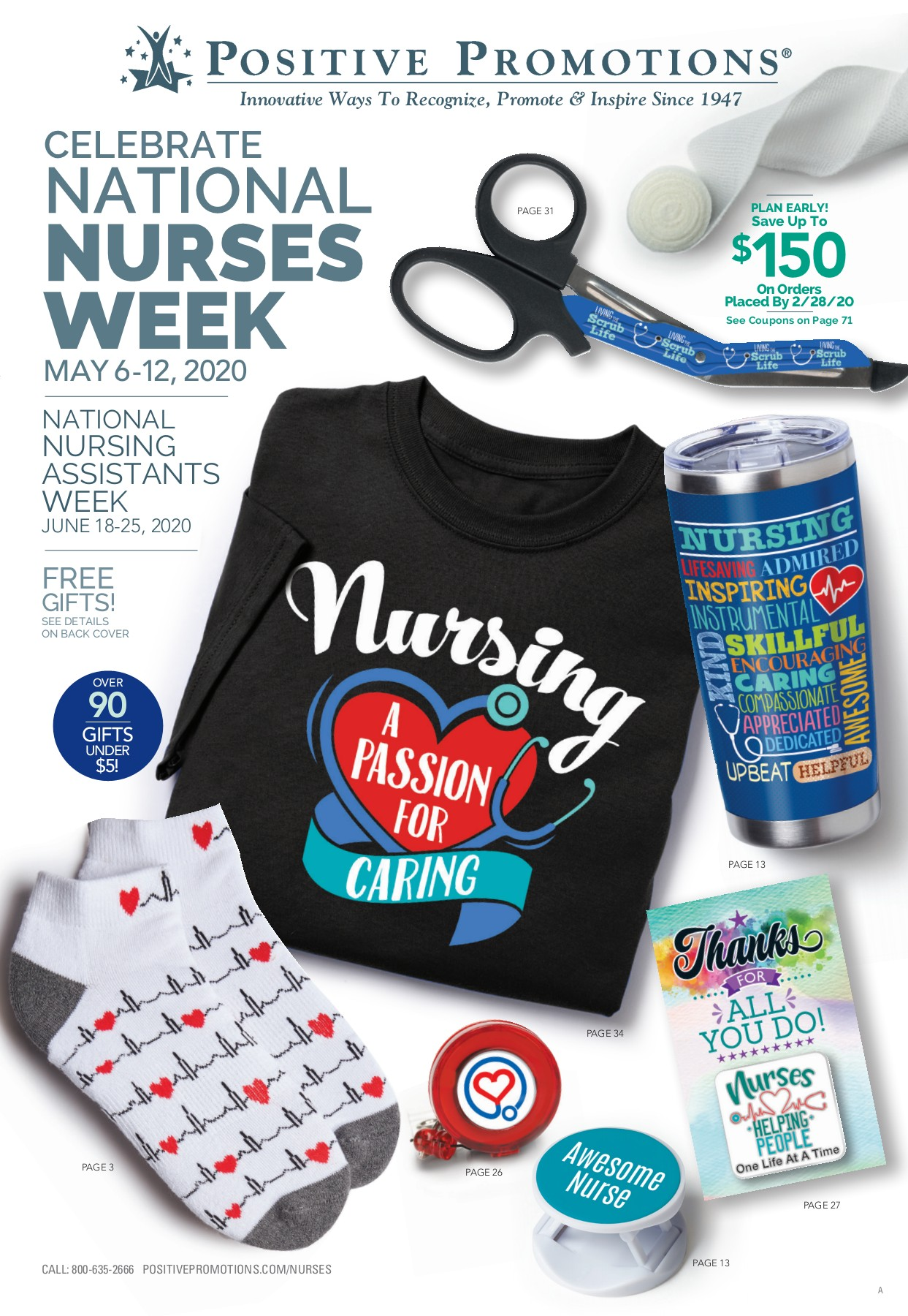 Positive Promotions New 2020 Nurses Week Gift Collection Milled