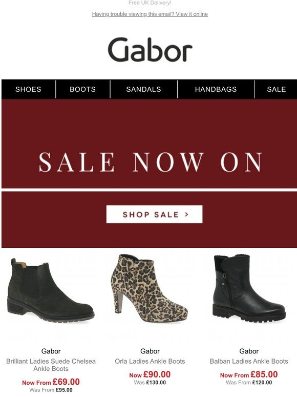 Gabor Shoes: Gabor Sale Now On! | Milled