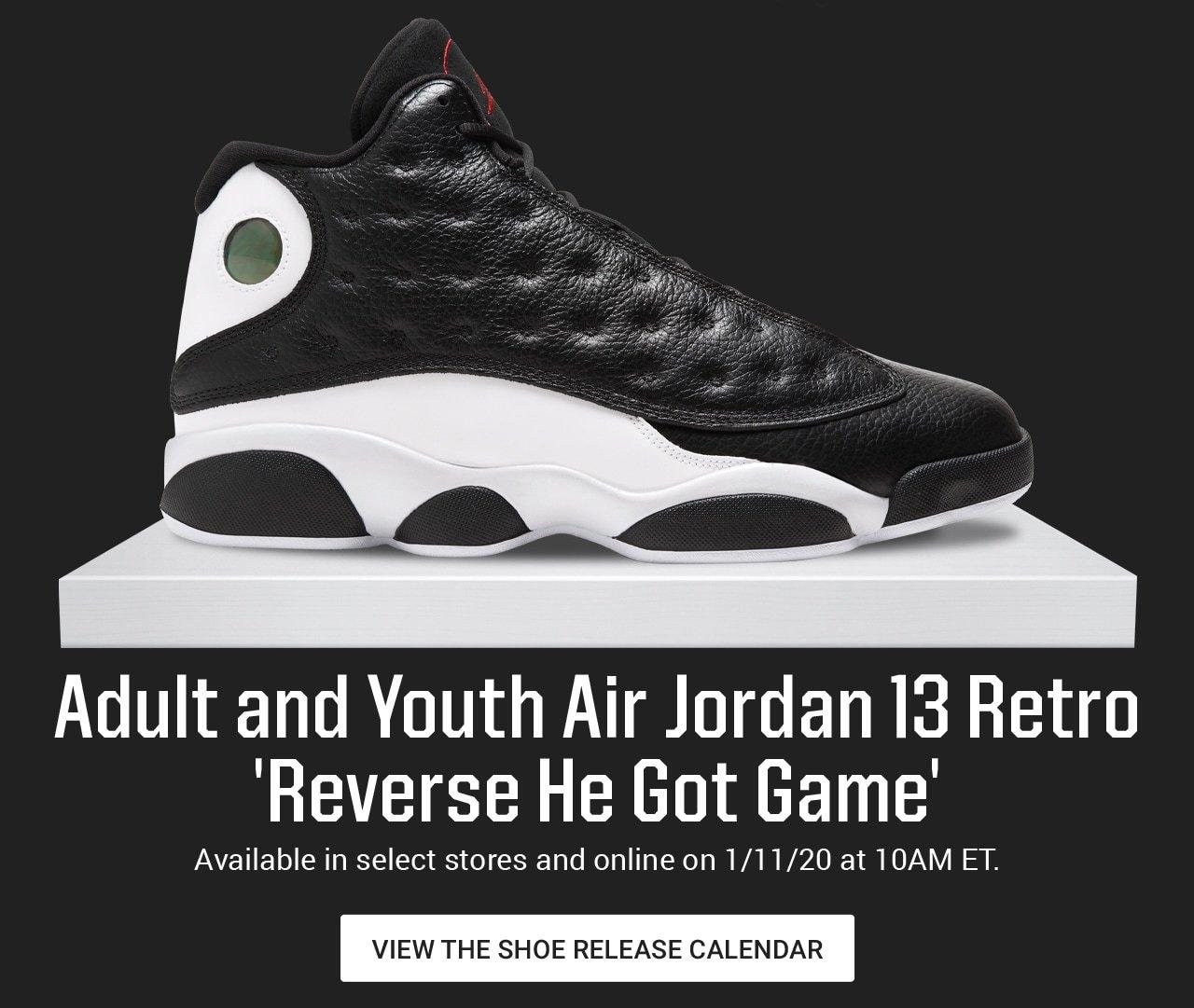 Dick S Sporting Goods Air Jordan 13 Retro Reverse He Got Game