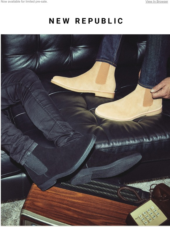 The Sonoma Suede Chelsea Boot