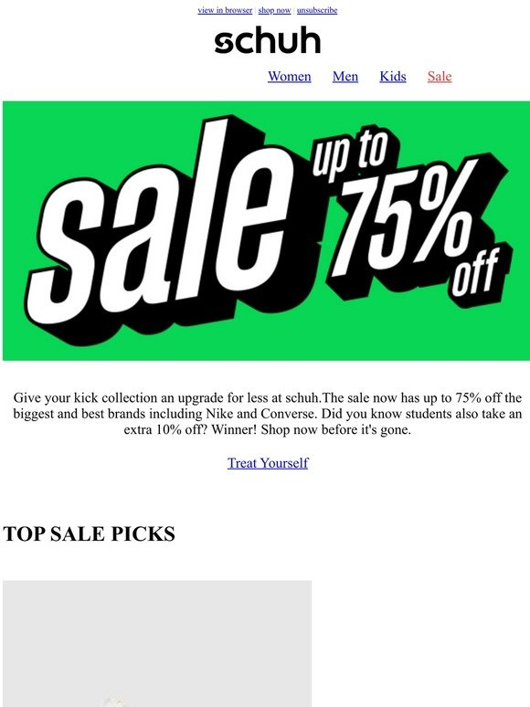 Schuh Ireland: Time to grab a bargain | Milled
