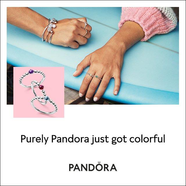 Ben Bridge Introducing Pandora My True Colors Collection Milled