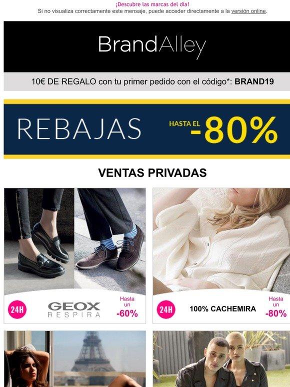 compra genuina servicio duradero nuevo estilo y lujo Brandalley Espańa: Geox (-60%), 100% Cachemira (-80%), Soleil ...