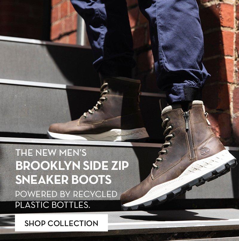 Brooklyn Side Zip Sneaker Boots