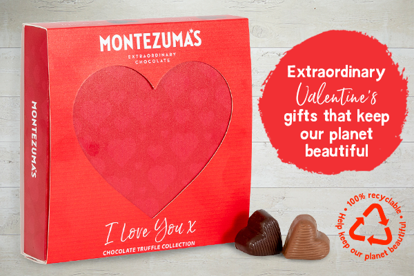 Montezumas Co Uk 100 Recyclable Valentine S Day Chocolates Milled