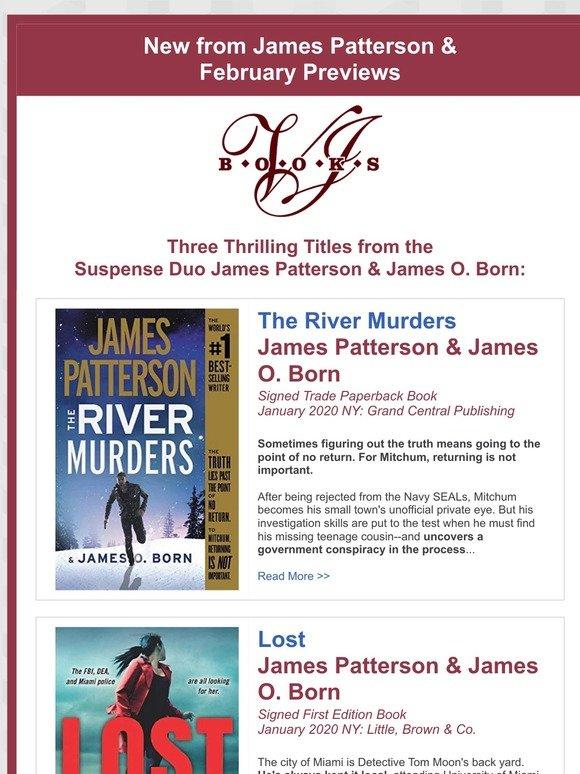 james patterson books 2020