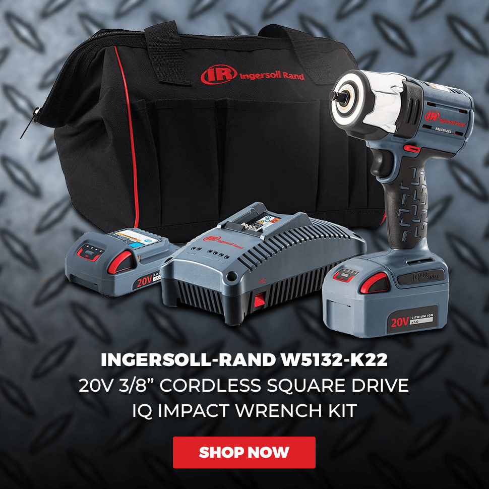 Ingersoll-Rand 2130-2 Heavy Duty 1//2-Inch Impact Pnuematic Wrench with 2-Inch Extended Anvil