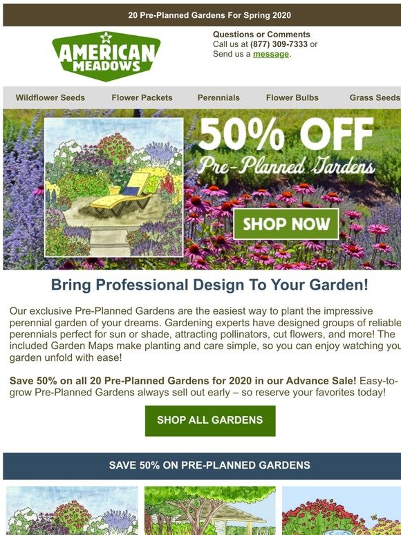 American Meadows The Easy Way To Plant Your Dream Garden Milled