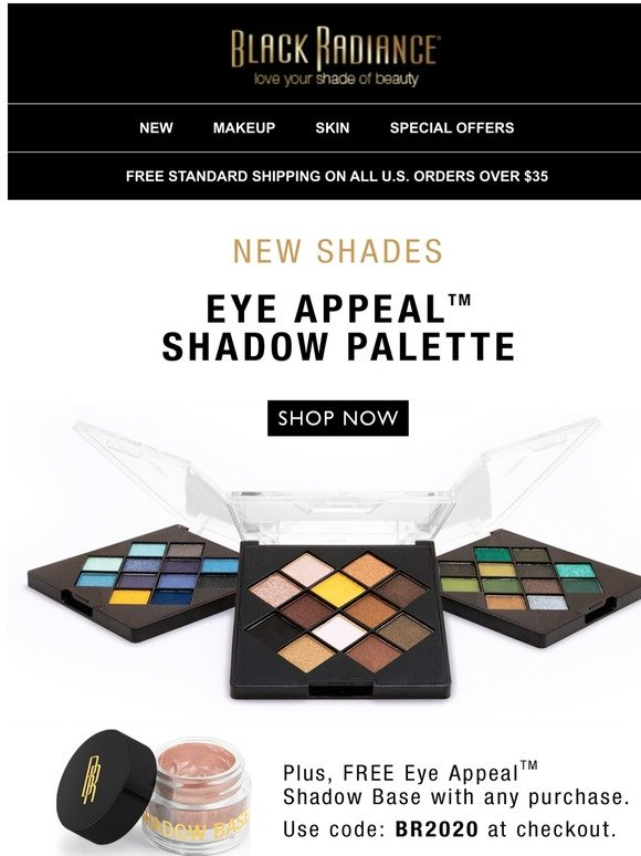 Black Radiance Beauty Flaunt Some Serious Eye Appeal Milled