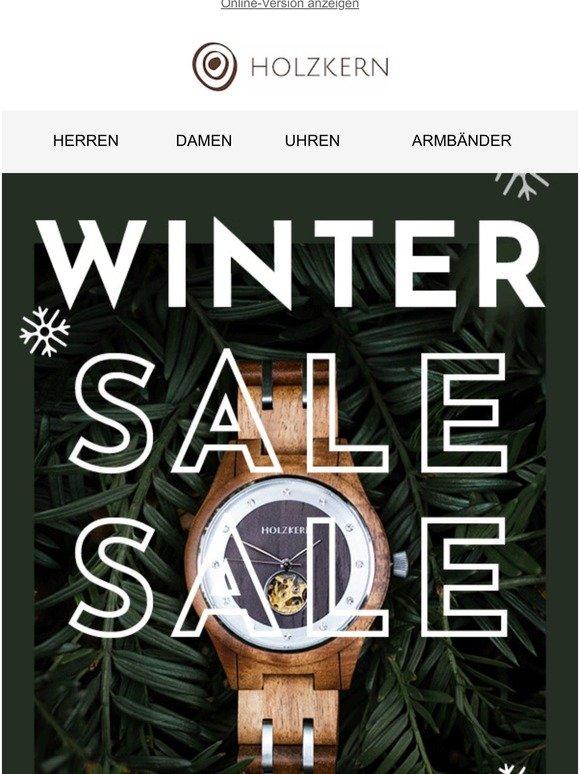 ❄ Holzkern Winter Sale ❄