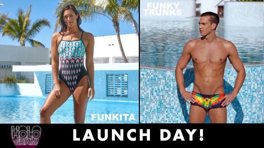Men/'s Swimsuit Funky Trunks Men/'s Pop Tropo Classic Brief Swimwear