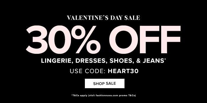 Fashion Nova Valentines Day Discount