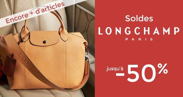 edisac: Soldes Longchamp : encore plus d'articles, jusqu'à -50 ...