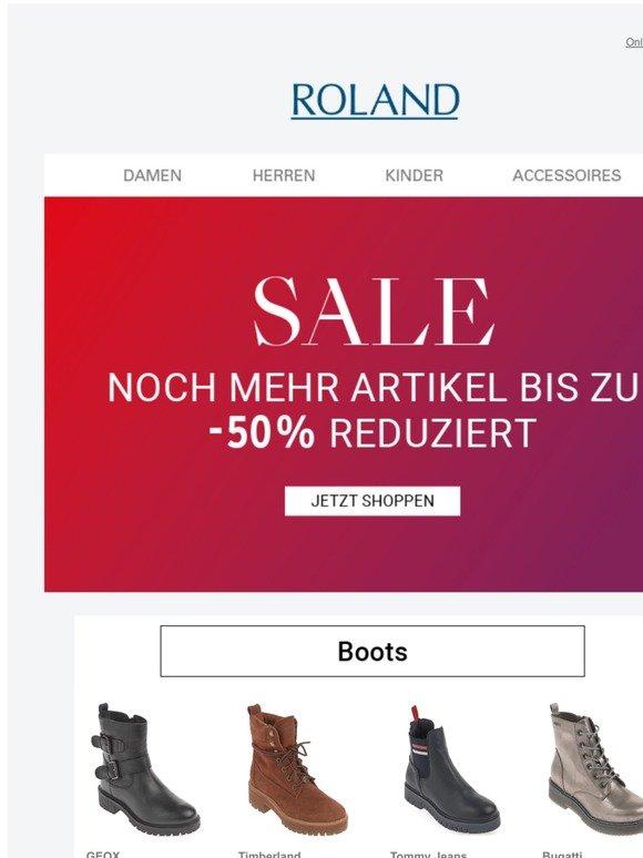 ROLAND SCHUHE: 30% Rabatt auf Stiefel und Stiefeletten | Milled