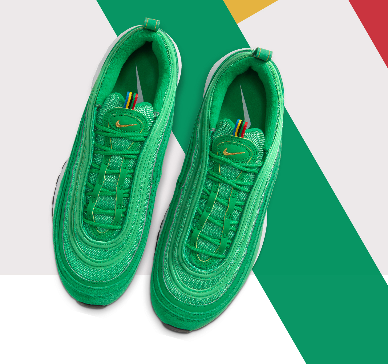 Hype Dc Nike Air Max 97 Olympic Rings Pack Out Now Milled