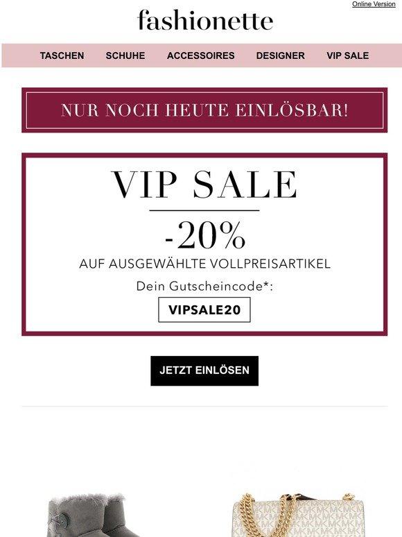 Luxusbabe: 10% auf ausgewählte Sale Artikel nur für Dich