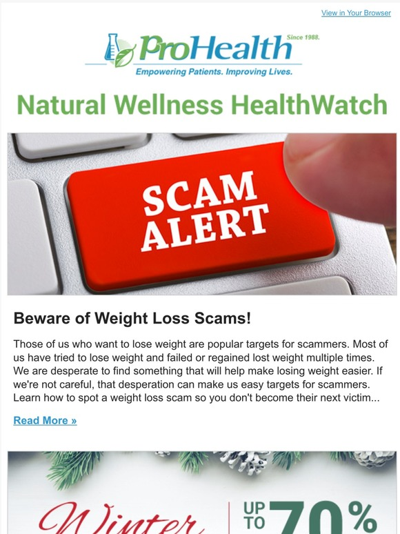 Prohealth Beware Of Weight Loss Scams Milled If you want to lose weight very quickly, try a calorie restrictive diet with a low intake of carbs. milled