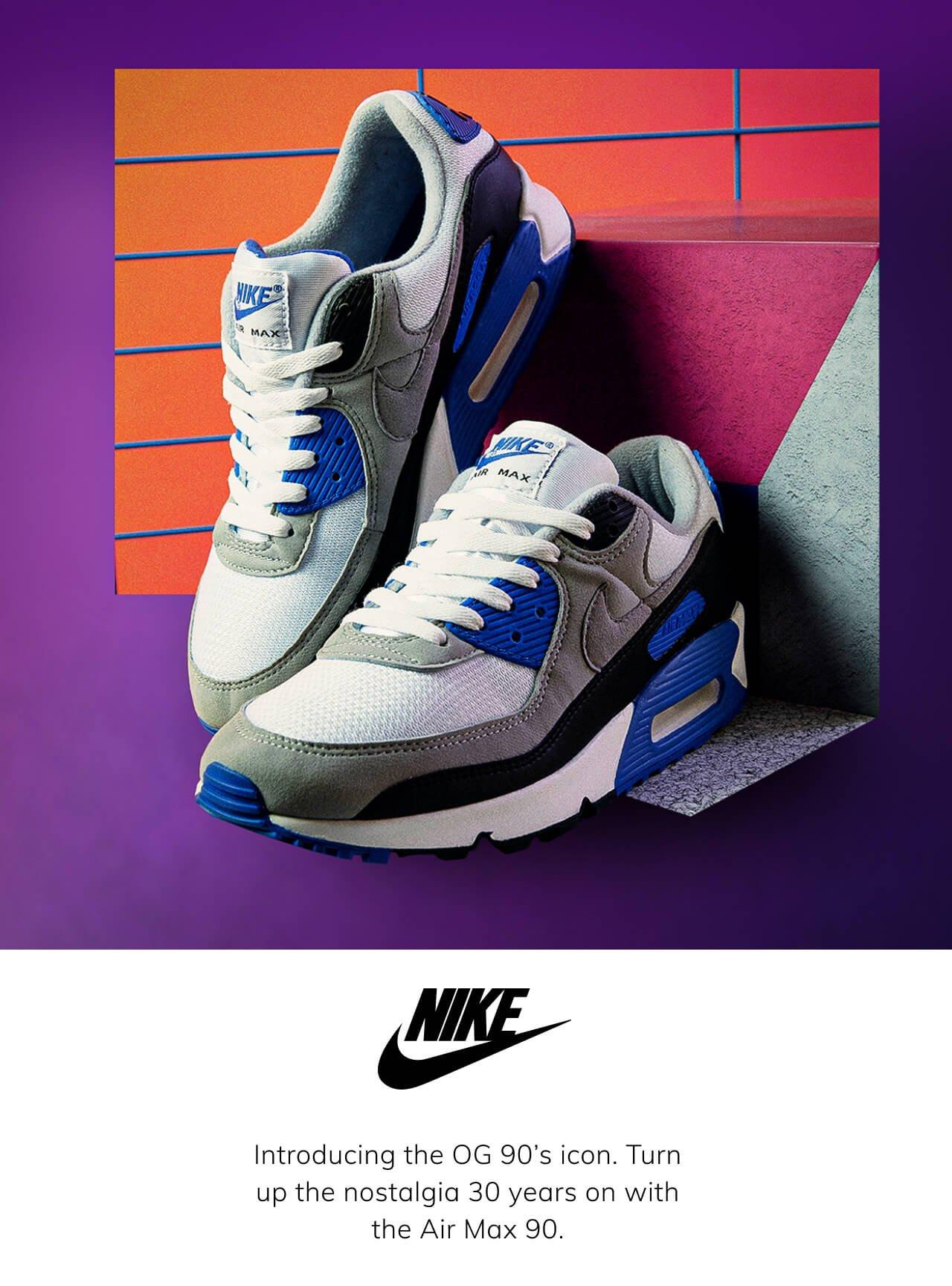 OG Nike Air Max 90 lands at scotts