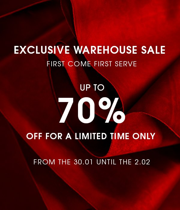 ECCO UK: EXCLUSIVE WAREHOUSE SALE Up to
