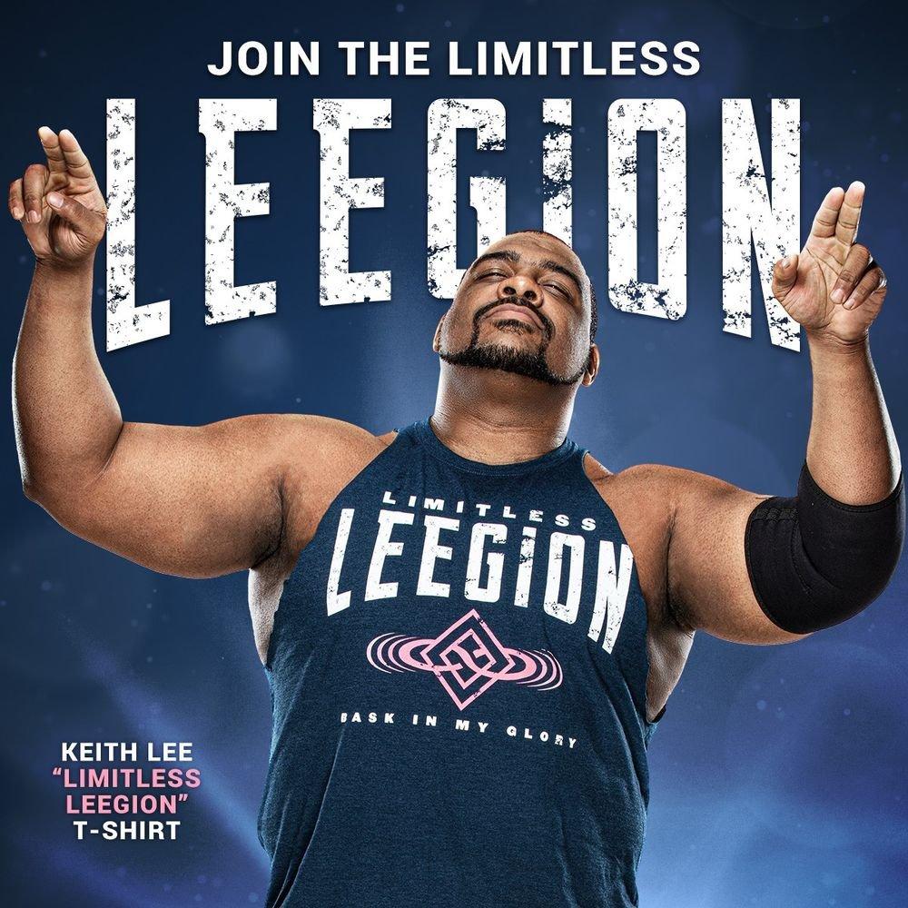 WWE Keith Lee Bask in My Glory Full Zip Hoodie Sweatshirt