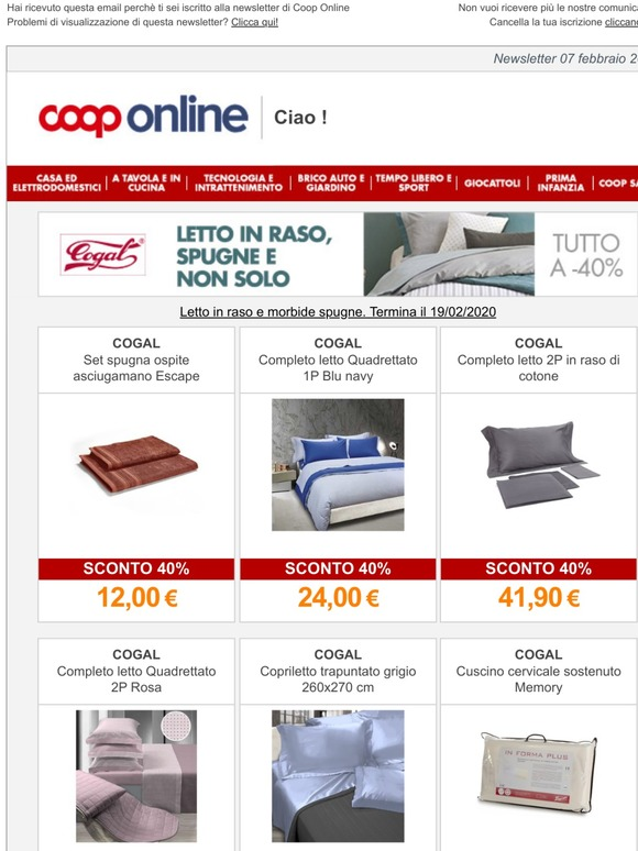 Cuscini Coop.Coop Letto E Bagno Cogal A 40 Milled