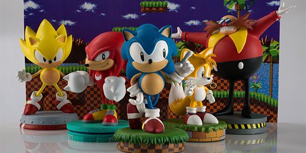 Eaglemoss Shop Alert Sonic The Hedgehog Figurine Collection Available To Order Milled