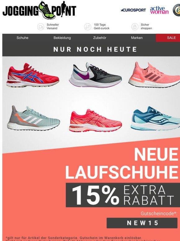 jogging point DE: Nicht verpassen! Nur noch heute 10% Extra