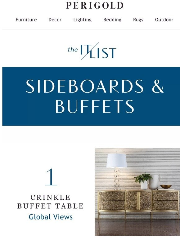 Perigold Sideboards Buffets 10 Designs You Need To See Milled