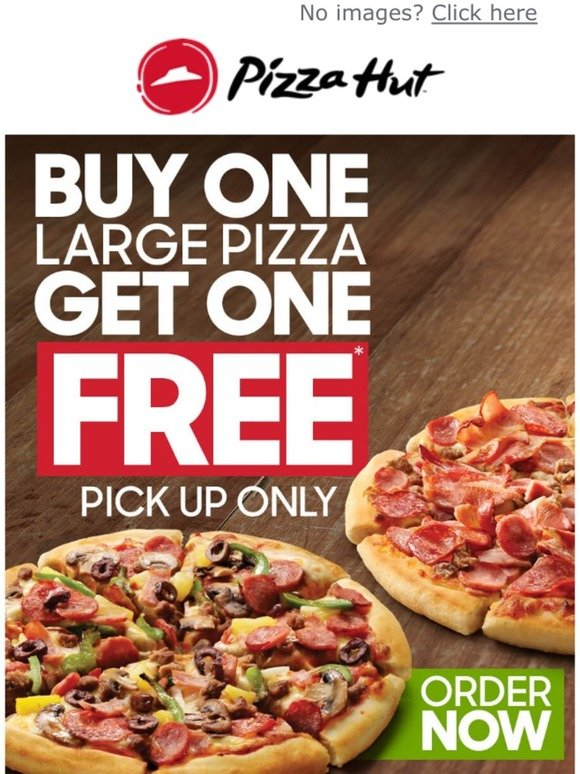 Pizza Hut Rejoice It S 2 Pizza Tuesday With 2 For 1 Pizza Deal Milled
