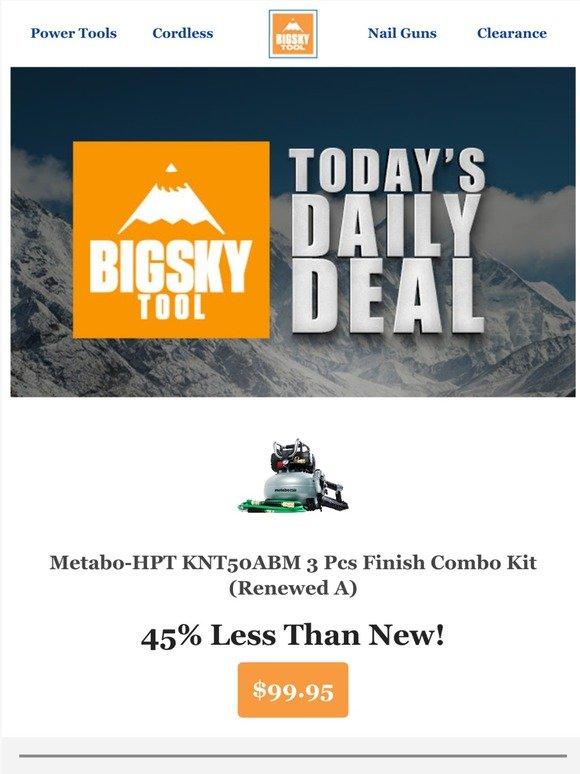 Hitachi NT1850DE Hitachi NT1850DE 18V Brushless 18 Gauge Brad Nailer Renewed
