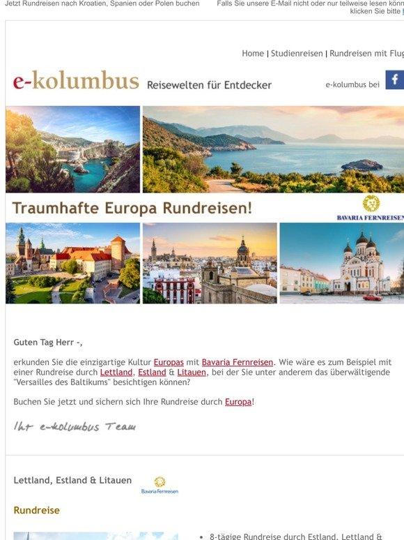 rundreisen europa