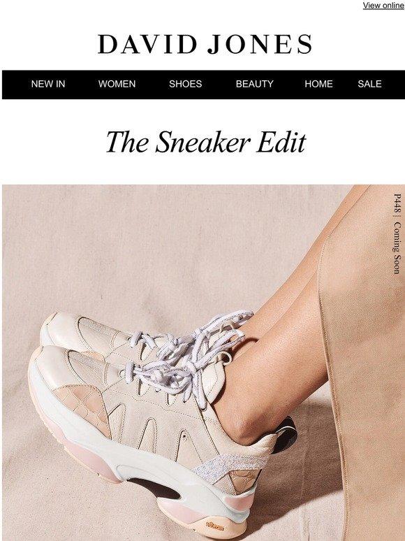 David Jones: The Sneaker Edit | Milled