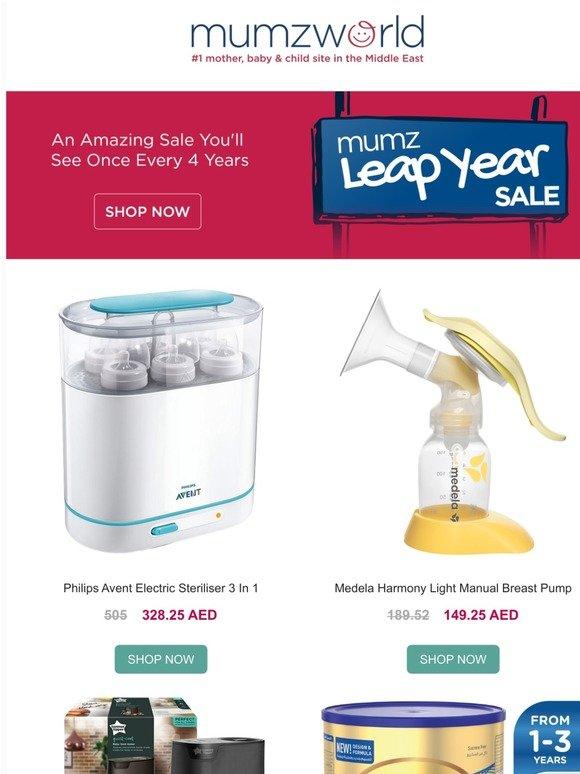 Mumzworld Leap Into Mumz Leap Year Sale Milled