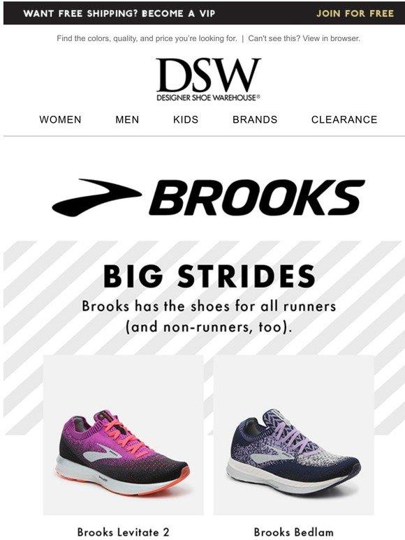 dsw brooks
