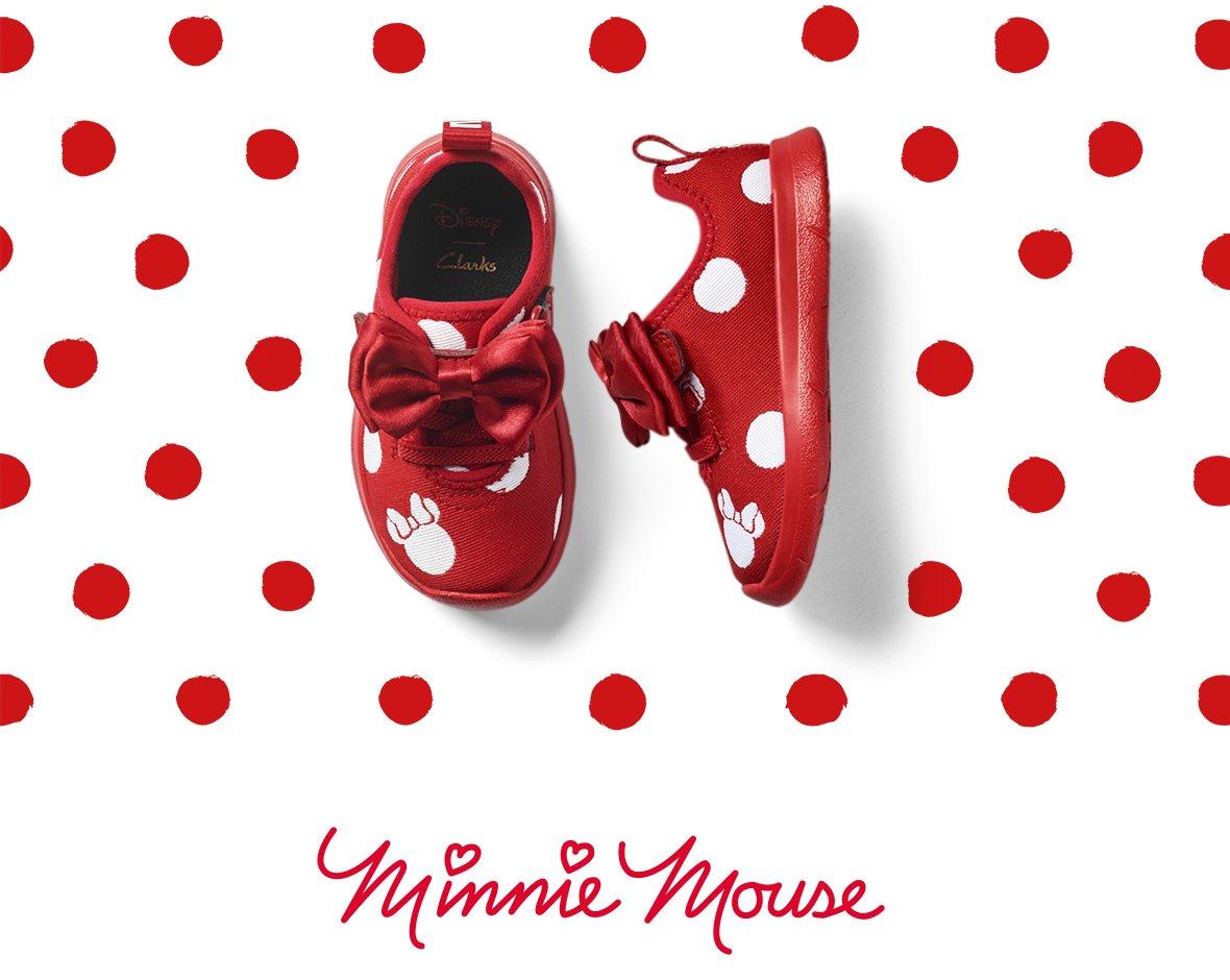 Disney X Clarks | Minnie and Mickey are