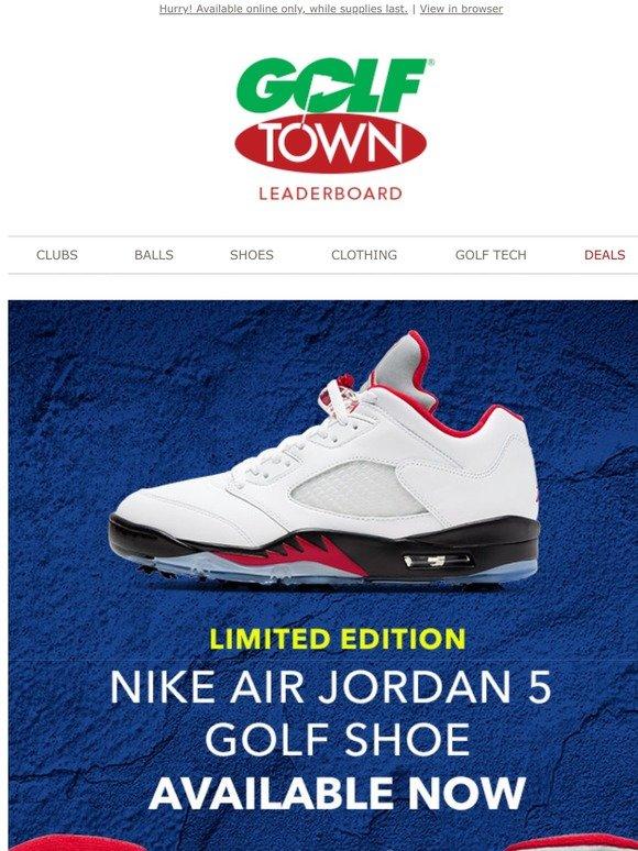 Golf Town: Limited Edition Air Jordan 5