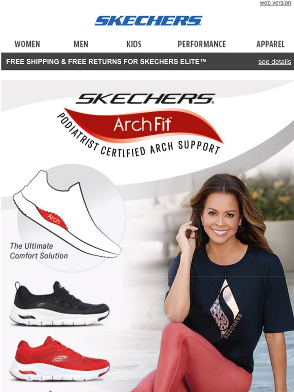 SKECHERS: Brooke Burke approved shoes