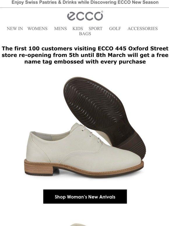 ecco oxford street