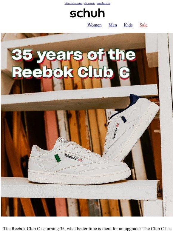 reebok club c 85 schuh