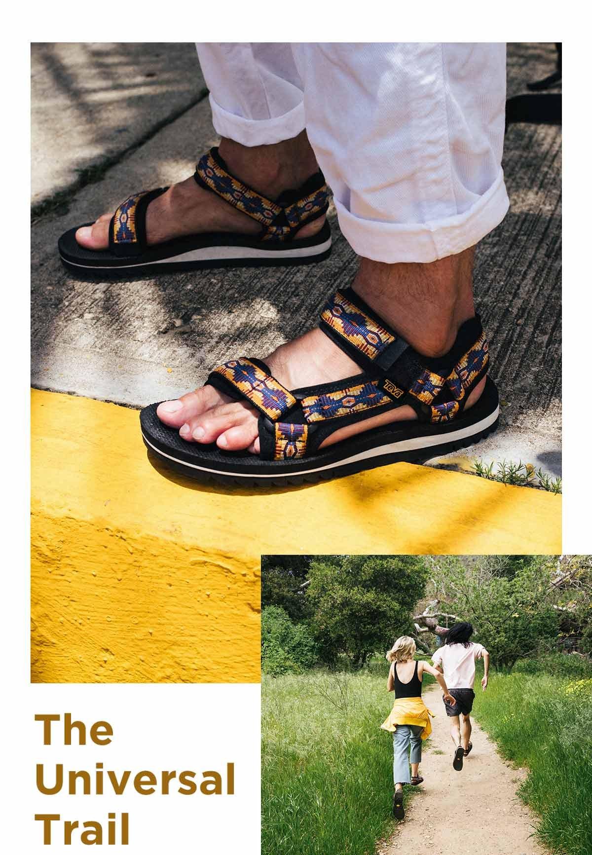 Teva: New trail sandals | Milled