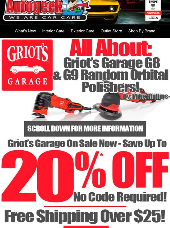 griot s garage g9 random orbital polisher