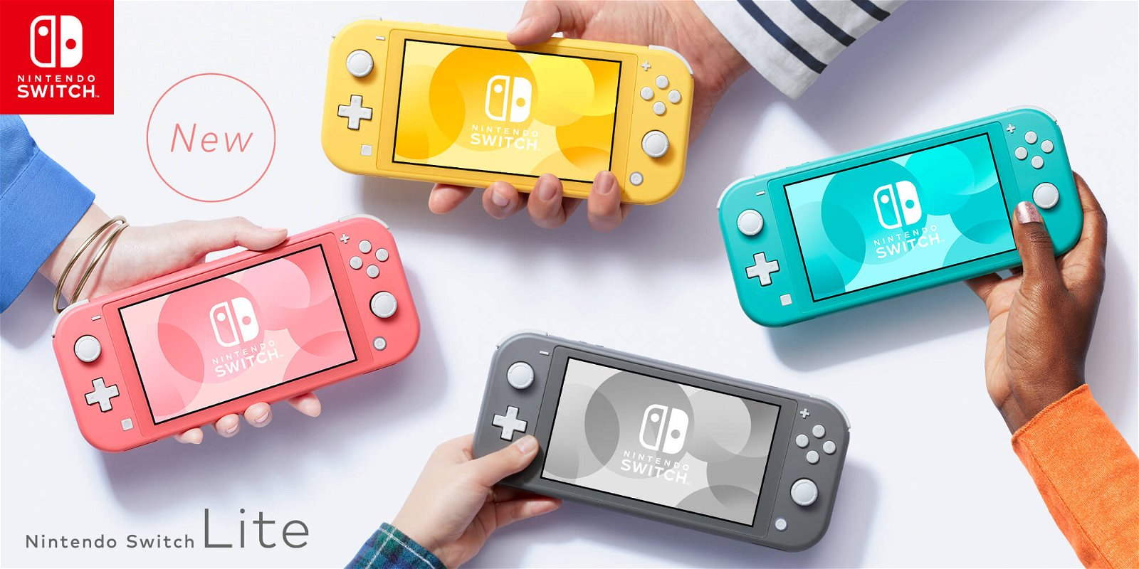 Nintendo: NEW IN! Introducing the coral Nintendo Switch Lite | Milled