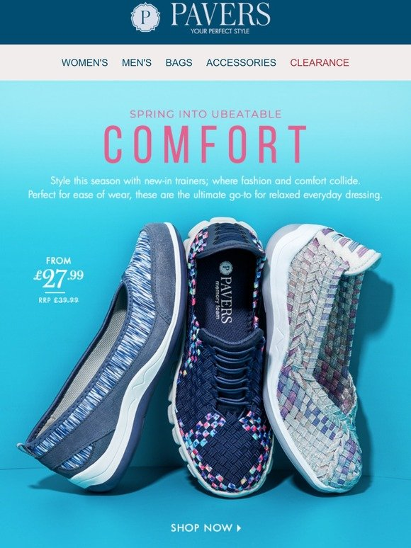 Pavers: New-in trainers to love now