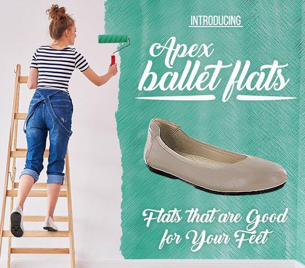 Apex Foot: At Last - Ballet Flats that