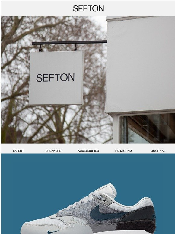 Sefton Fashion Launches Nike Air Max 1 London City Pack