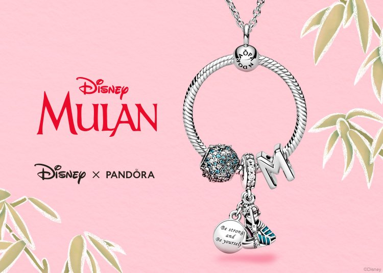 Pandora : Embrace your inner strength with charms from Disney's ...